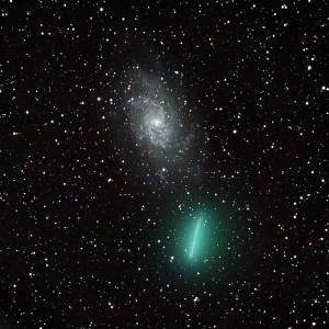 Comet Tuttle & the Triangulum Galaxy