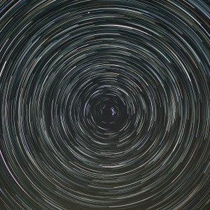 Star Trails Looking North