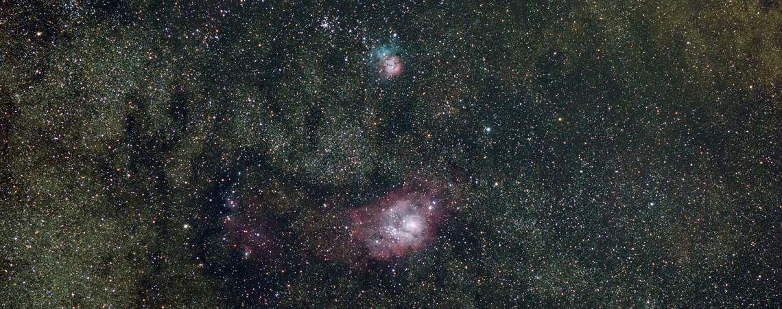 lagoon trifid nebula - photo #8