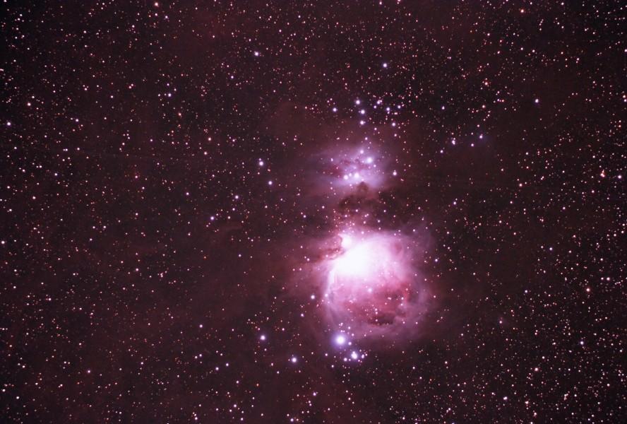 Orion Nebula Widefield May 29, 2008