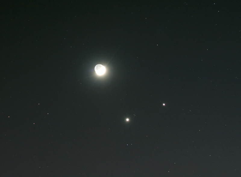 Triple Conjunction