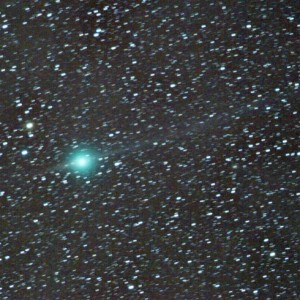 Comet Lulin & 2° Ion Tail