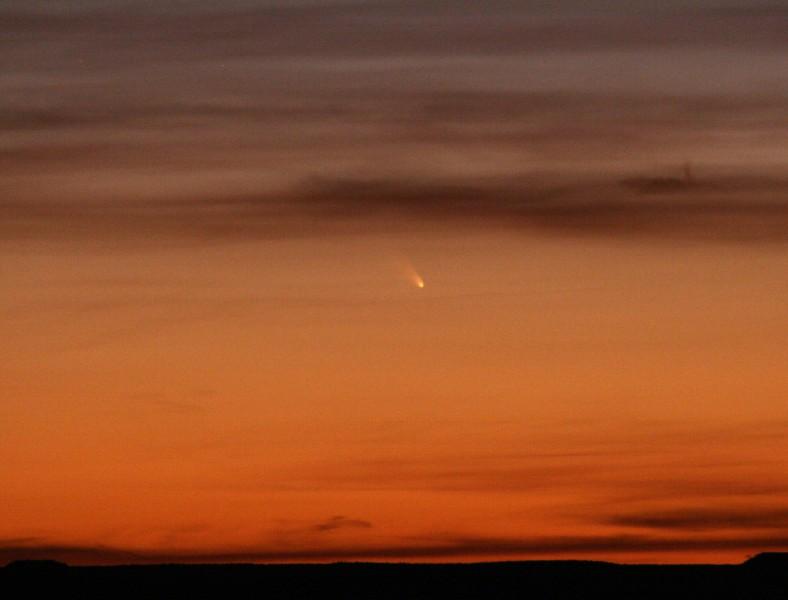 Comet PanSTARRS - March 11, 2013, Canyonlands NP