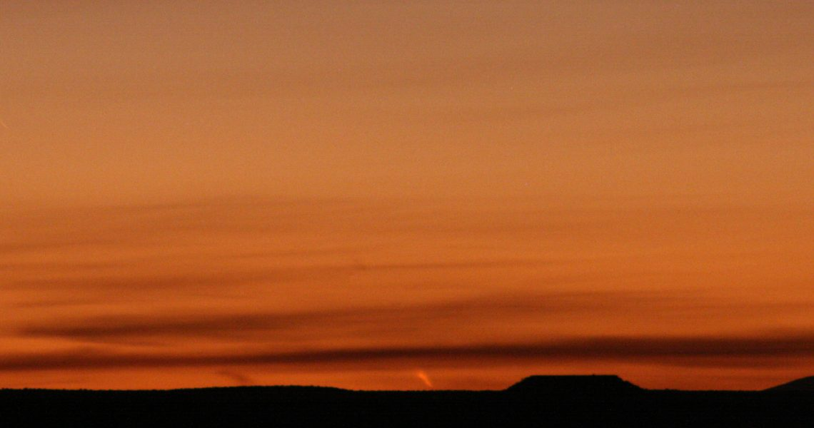 Comet PanSTARRS - March 11, 2013, Canyonlands NP